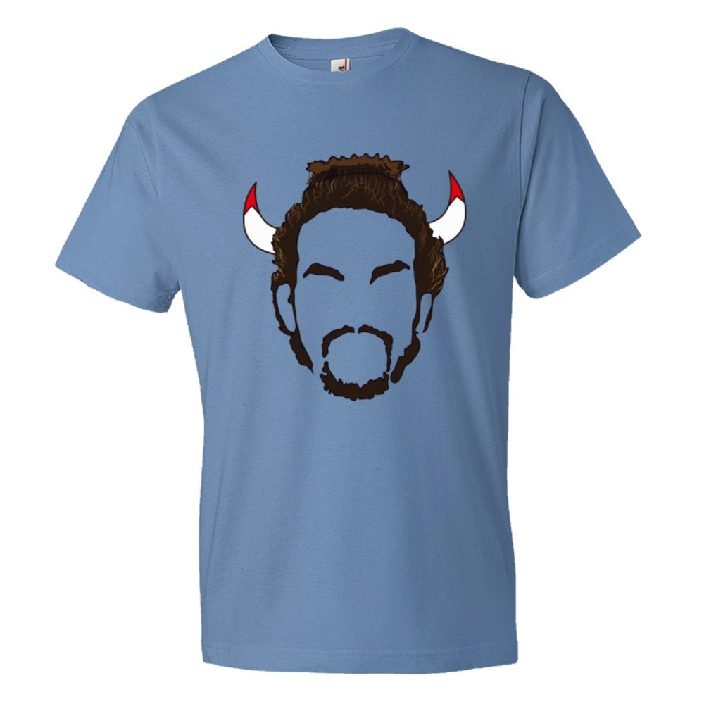 Joakim Noah Nair And Horns Chicago Bulls Basketball - Tee Shirt