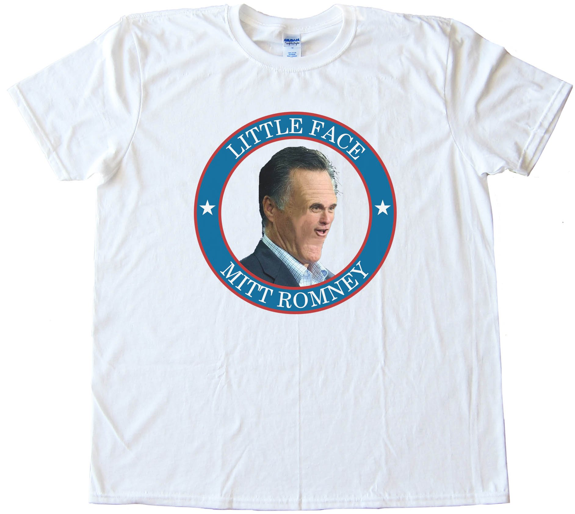 Little Face Mitt Romney - Tee Shirt