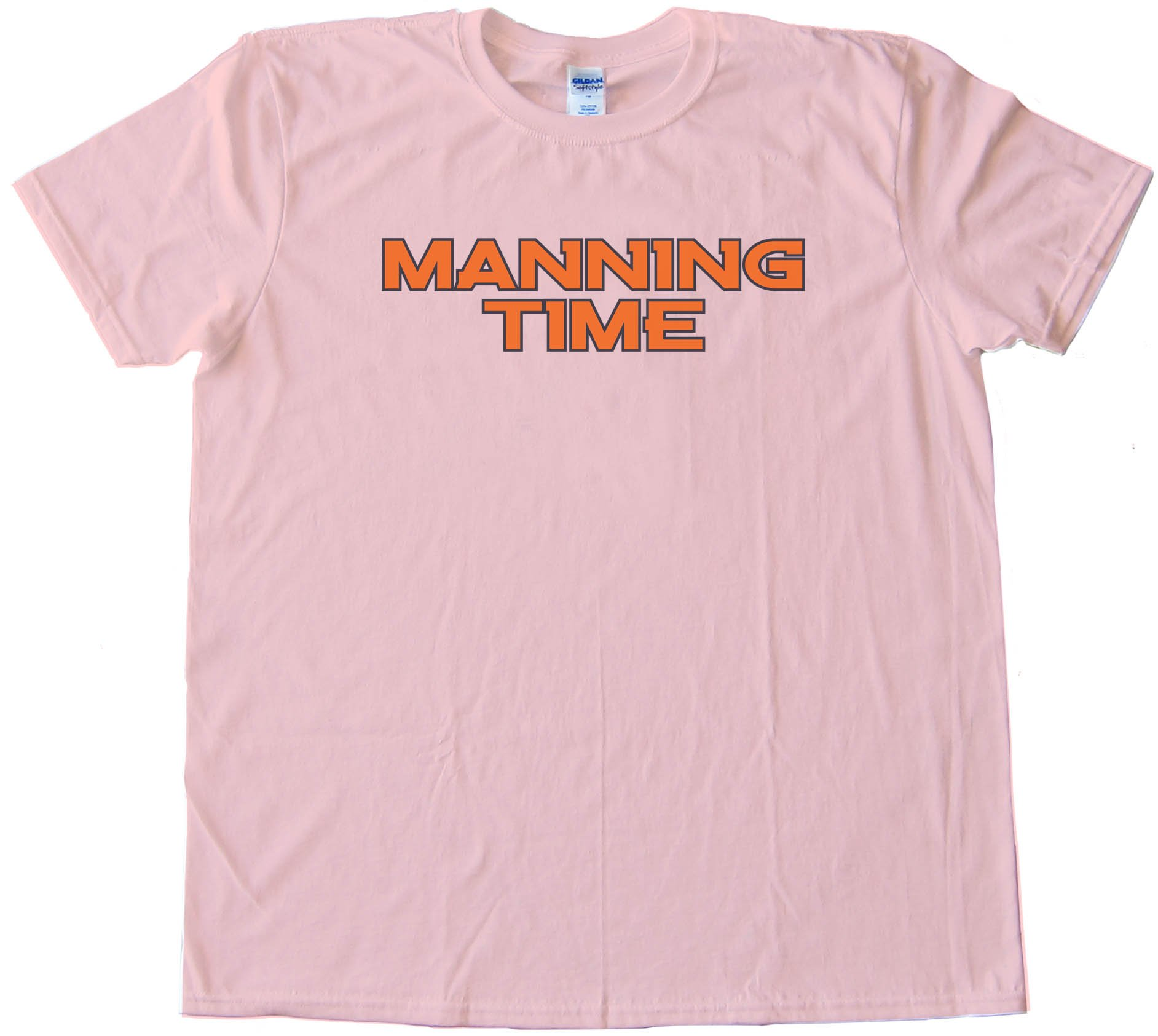 Manning Time - Denver Broncos Football - Tee Shirt