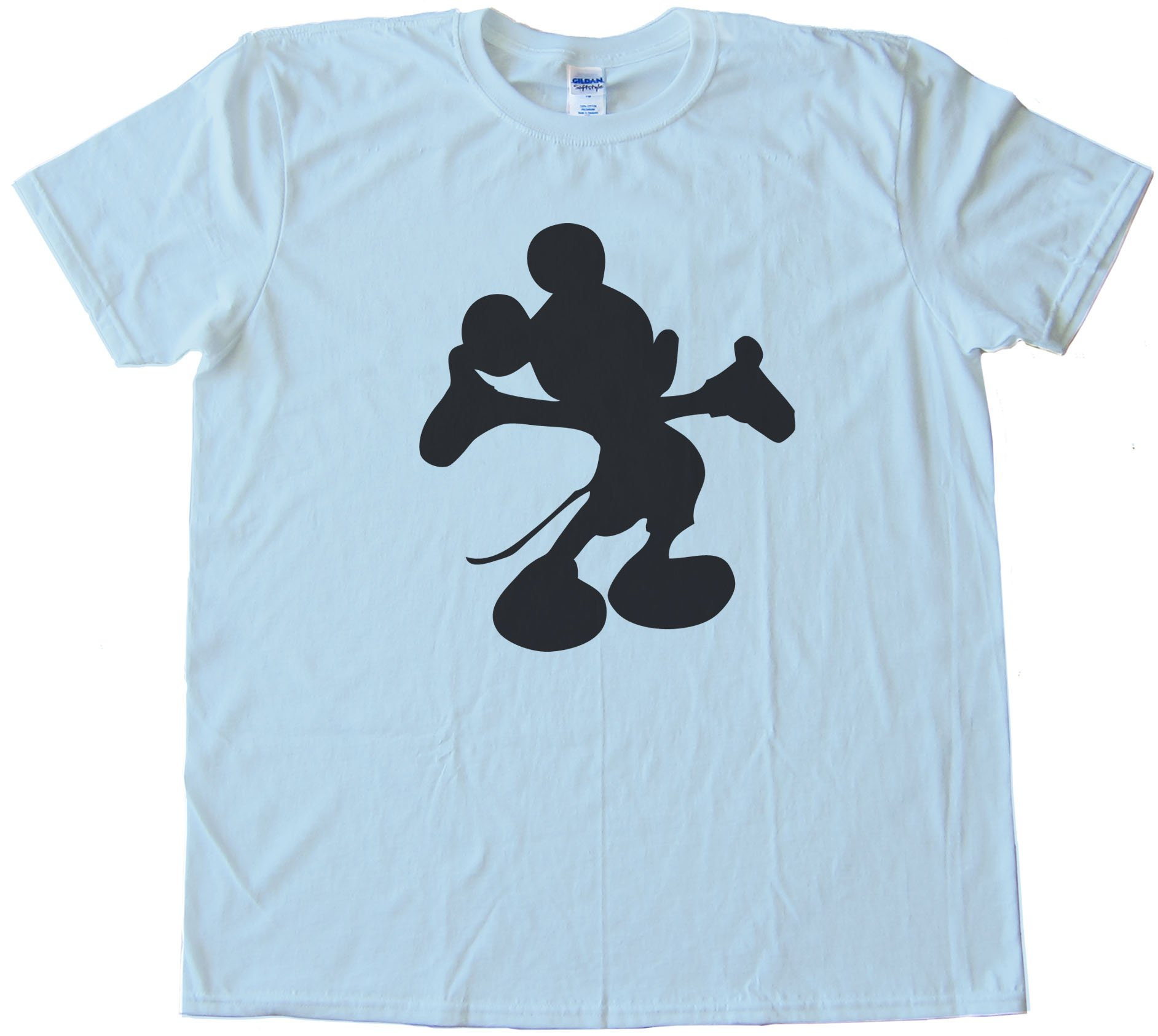 Mickey Mouse Silhouette - Tee Shirt