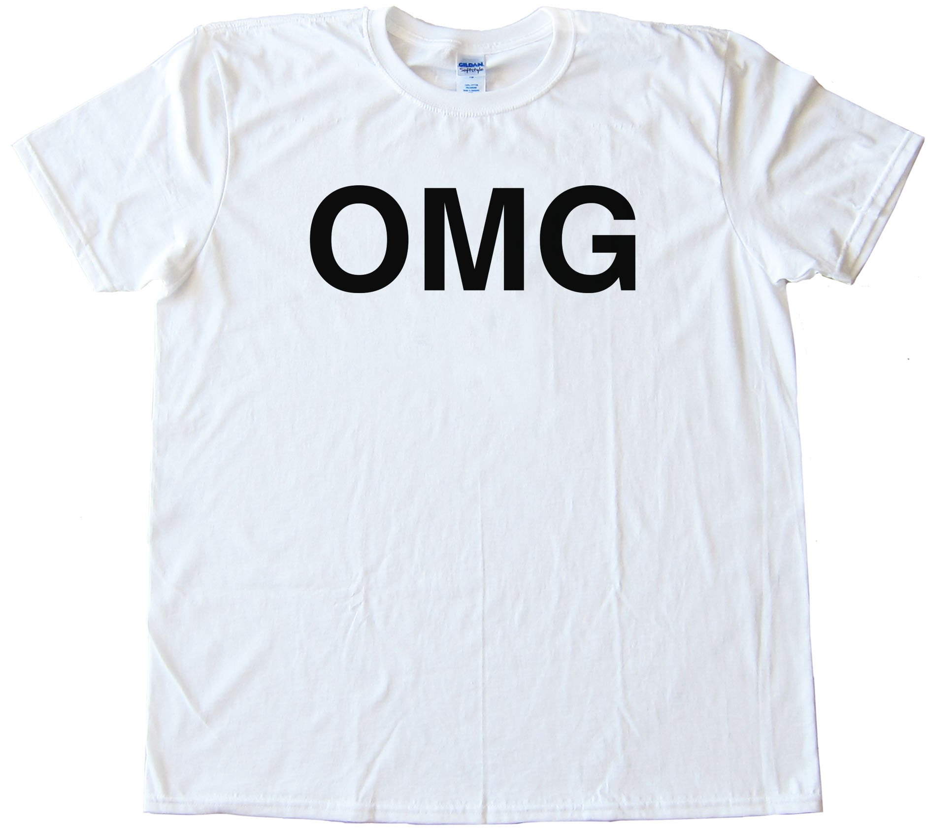Omg Oh My God Sms Text - Tee Shirt