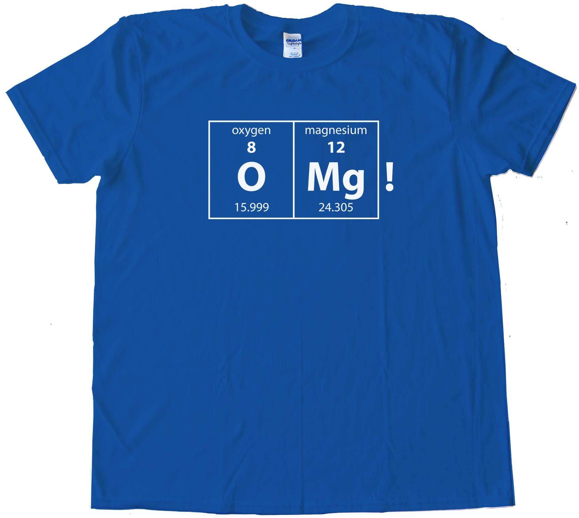 Omg! Oxygen And Magnesium Elements Oh My God Science Nerd - Tee Shirt