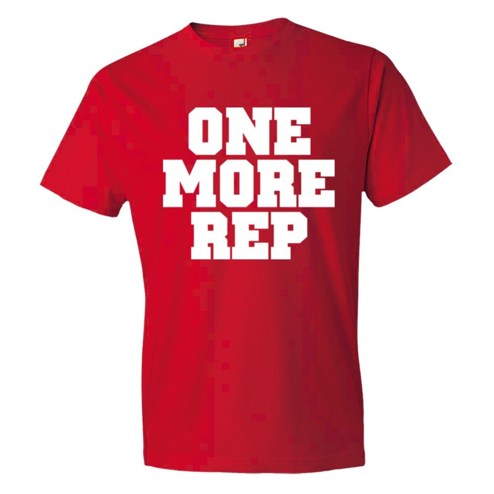 One More Rep Repetition Work Out - Tee Shirt