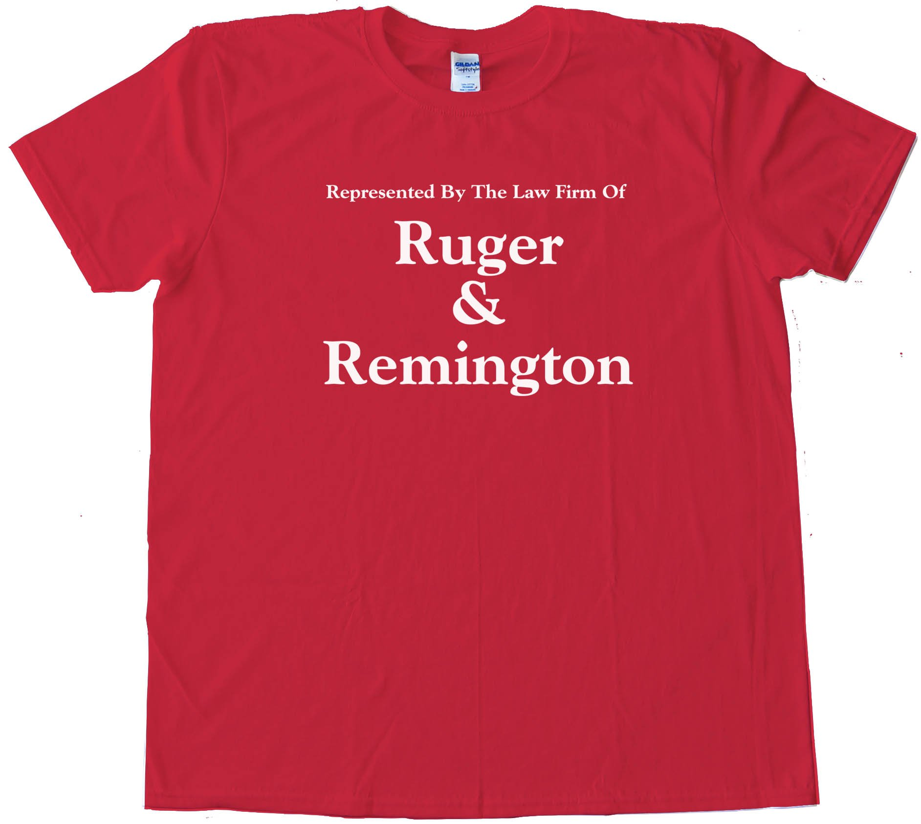 Represented By The Law Firm Of Ruger &Amp; Remington Gun Rights - Tee Shirt