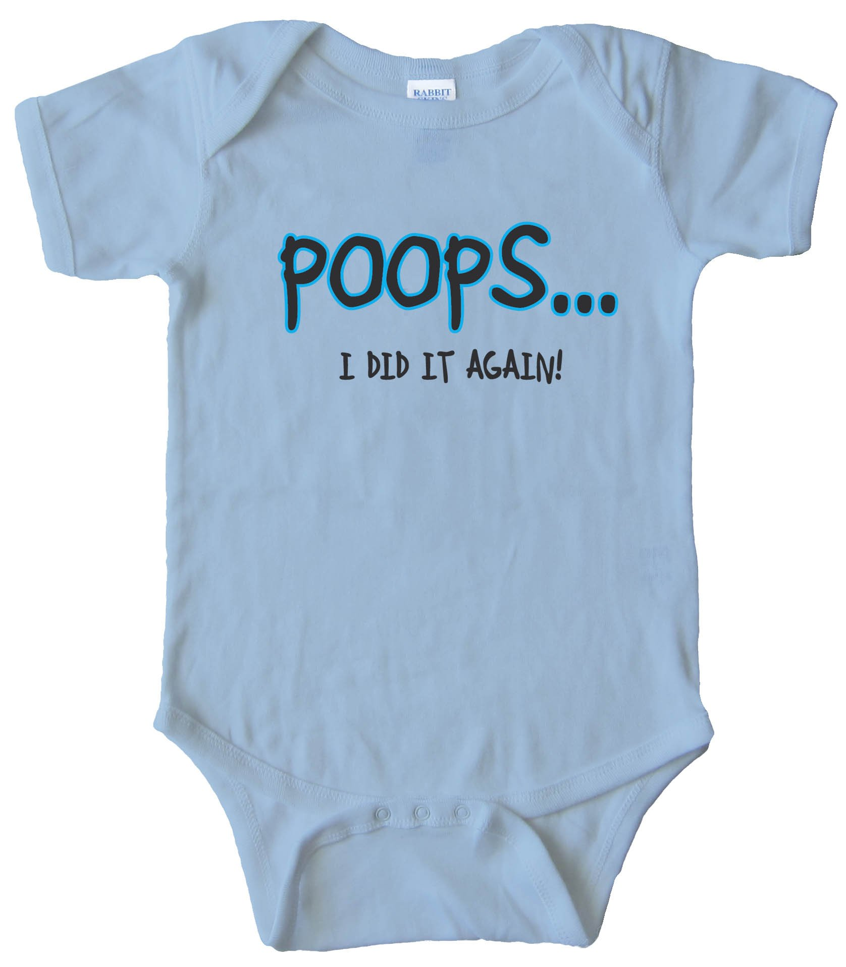 Baby Bodysuit - Poops... I Did It Again!