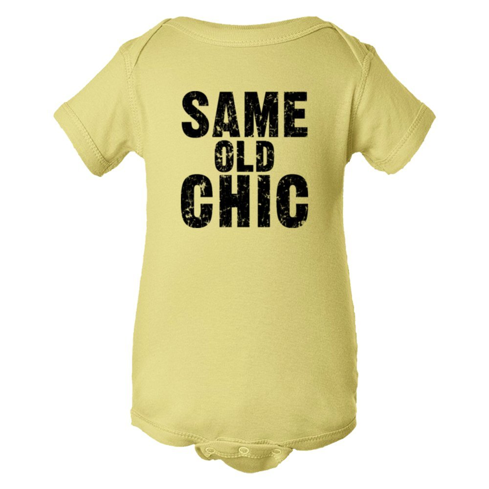 Baby Bodysuit Same Old Chic. Fashionable