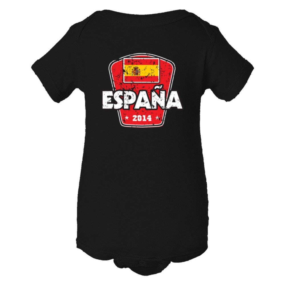 Baby Bodysuit World Cup 2014 Spain Soccer Team Support