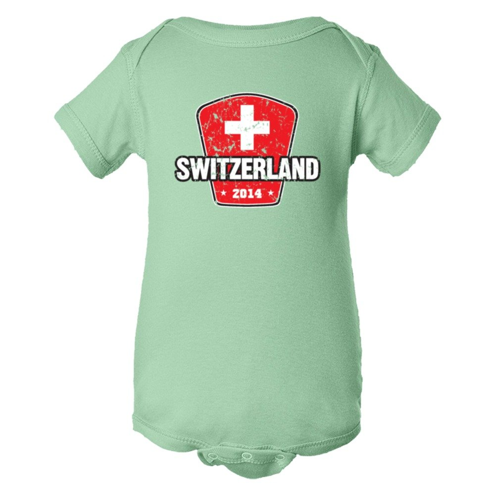 Baby Bodysuit World Cup 2014 Switzerland Soccer Team Support