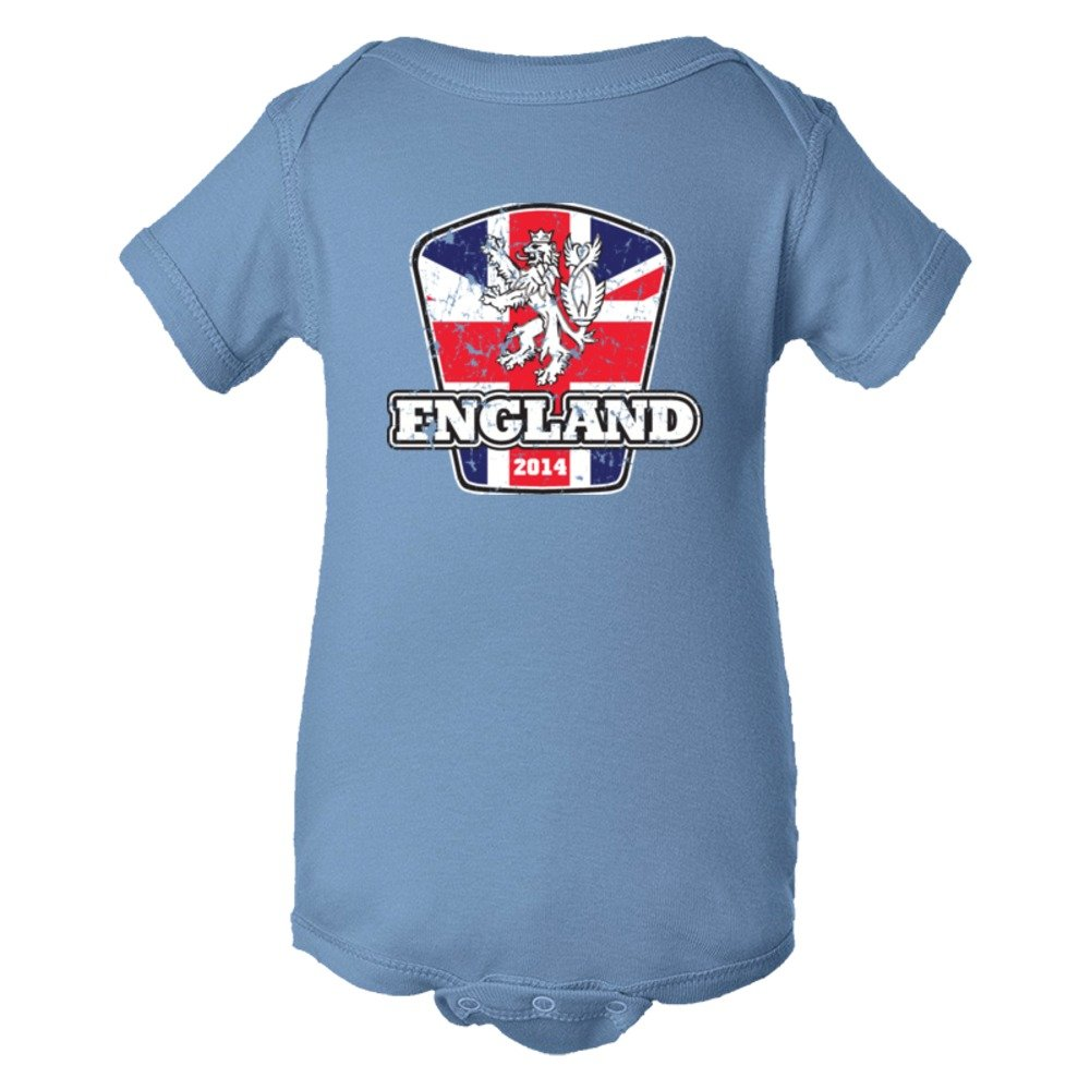Baby Bodysuit World Cup England 2014 Football Soccer Team Support