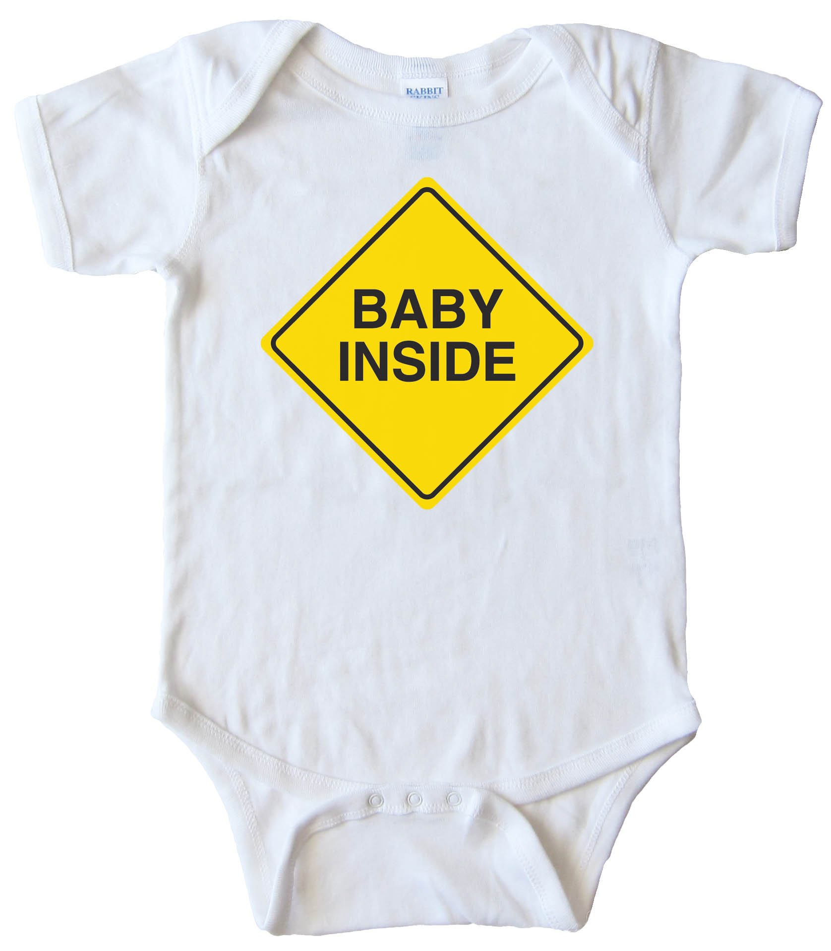 Baby On Board Baby Inside - Baby Bodysuit