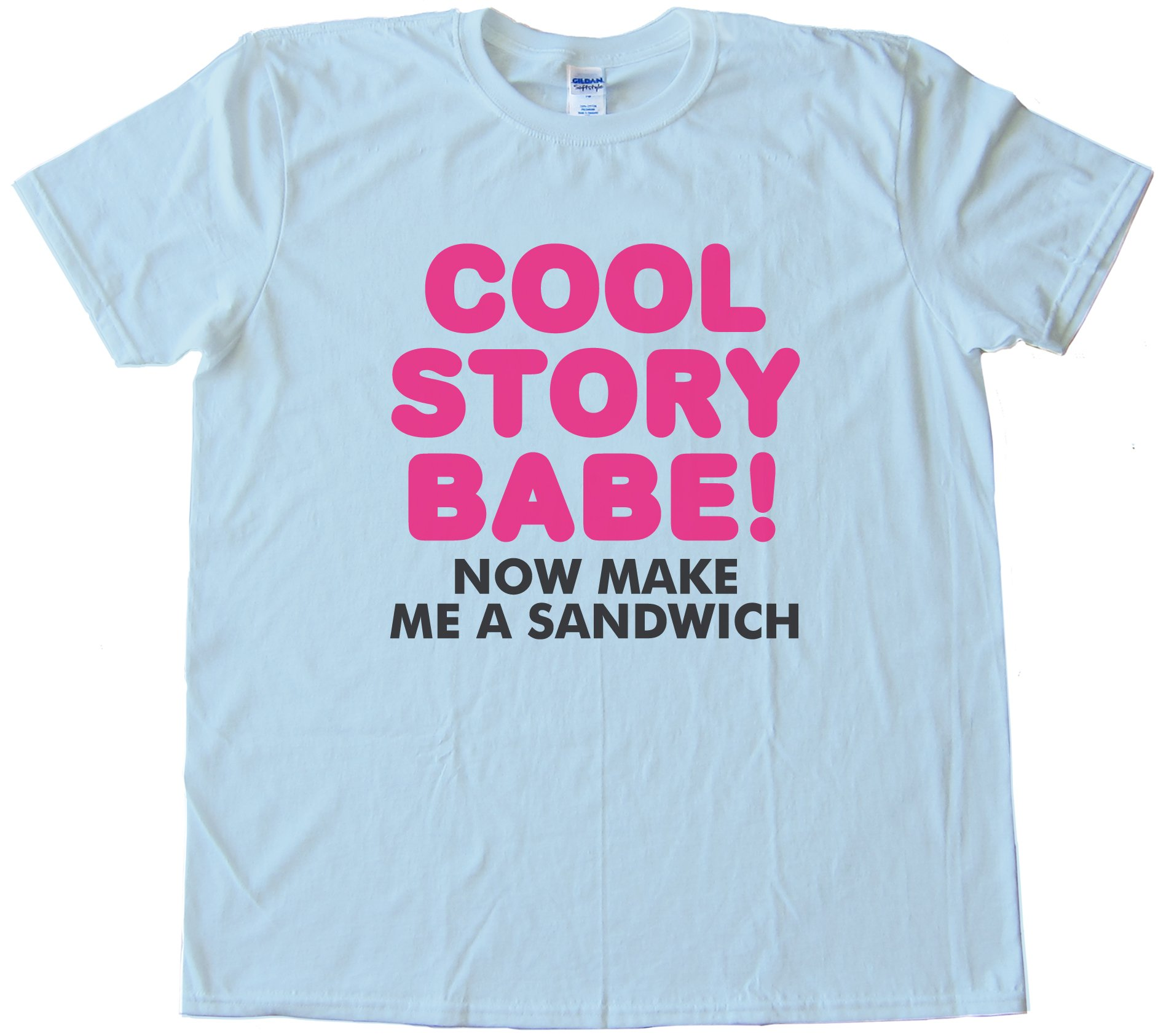 Cool Story Babe! Now Make Me A Sandwich Tee Shirt