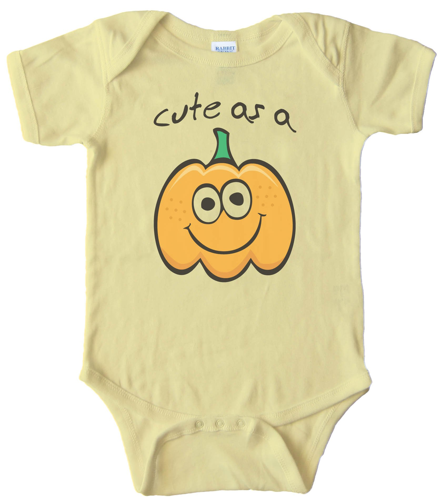 Cute As A Pumpkin - Baby Bodysuit