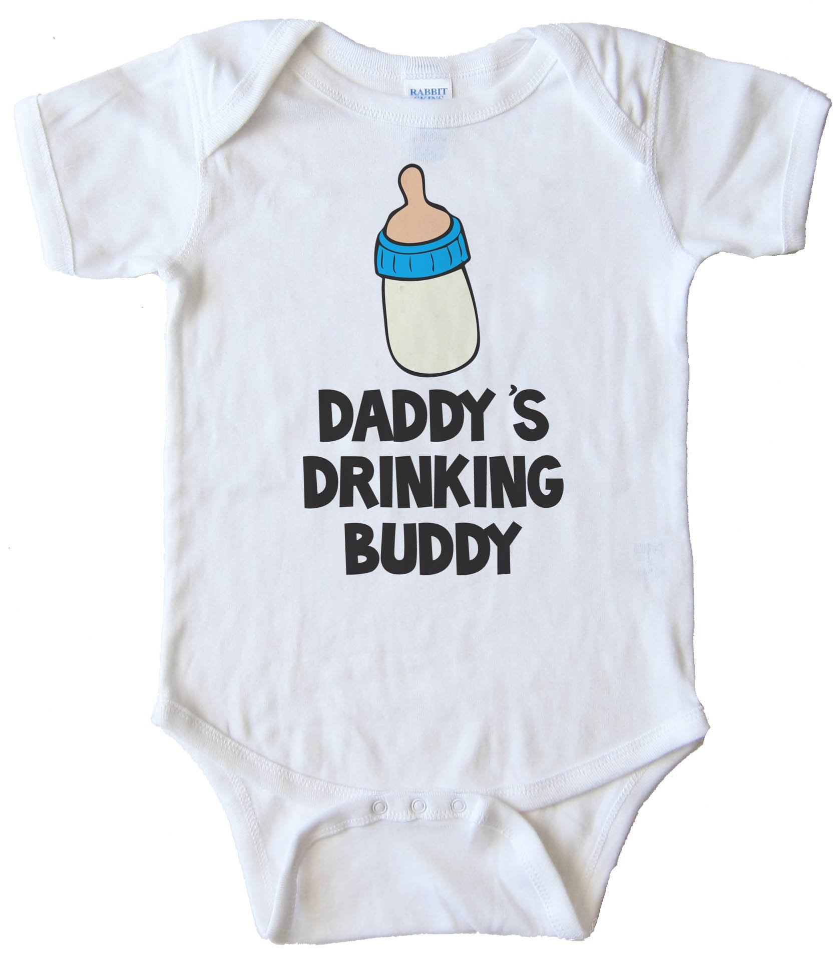 Daddy'S Drinking Buddy - Baby Bodysuit