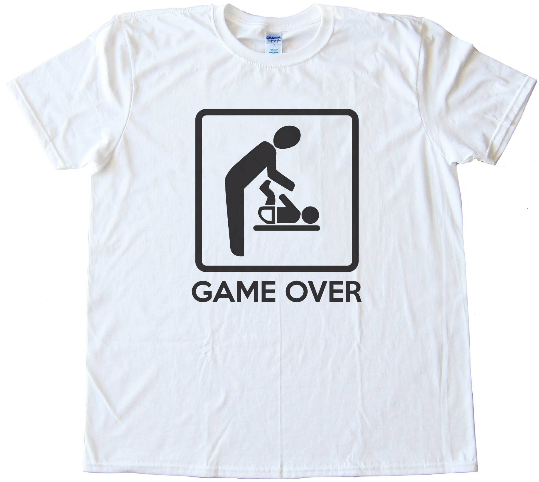 Game Over - New Father - Tee Shirt