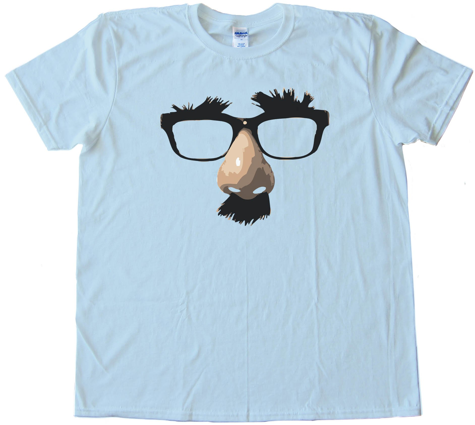 Groucho Marx Glasses Halloween - Tee Shirt
