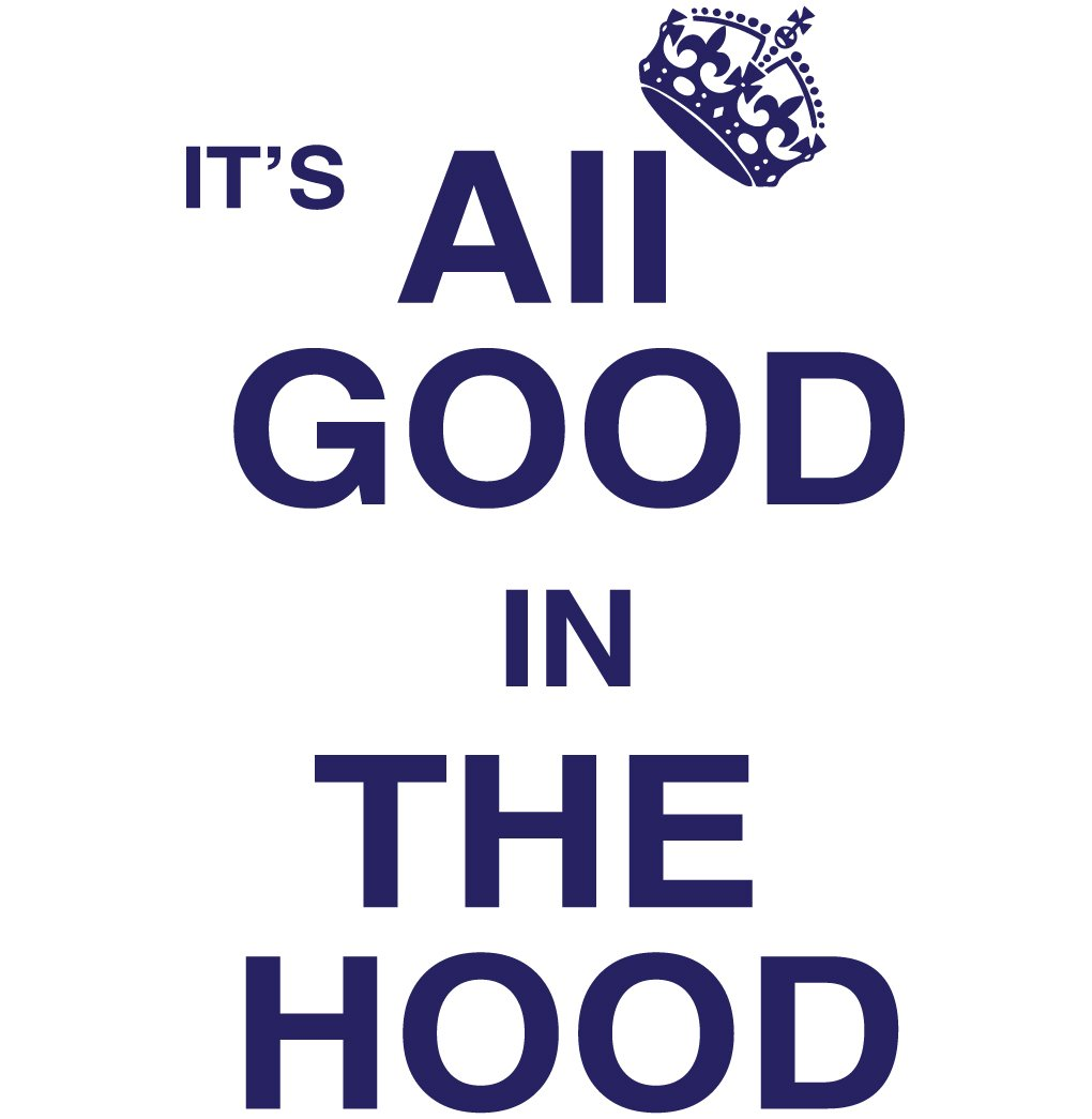 It'S All Good In The Hood Tee Shirt