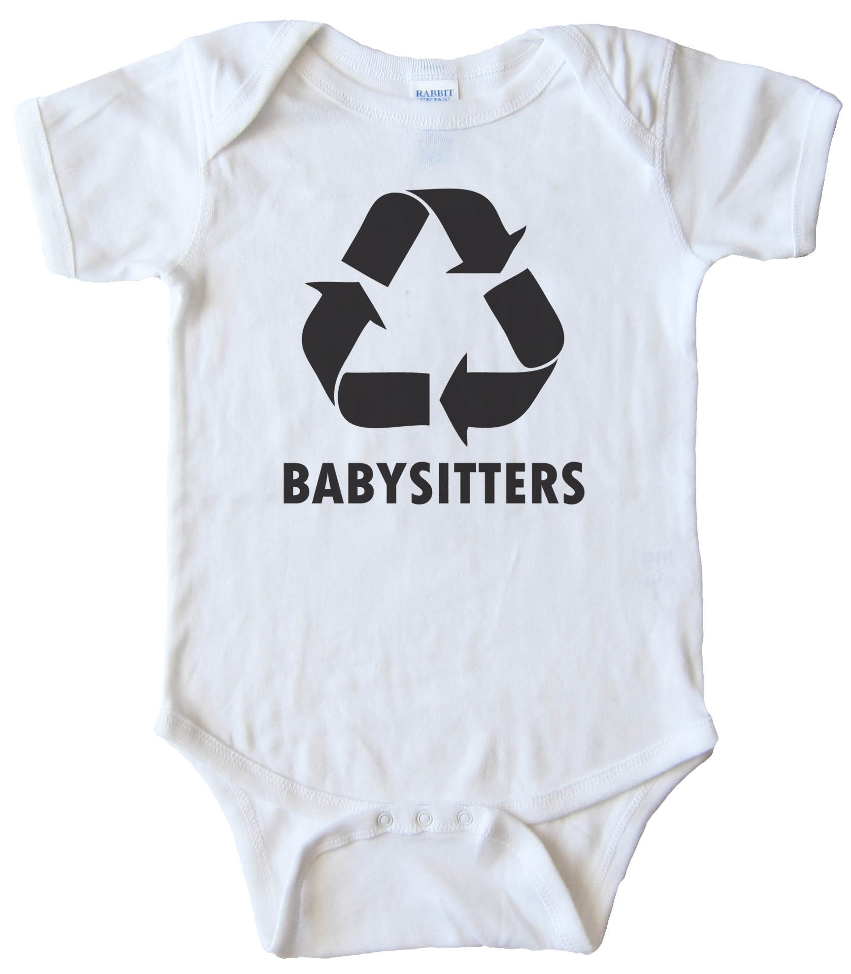 Recycle Babysitters - Baby Bodysuit