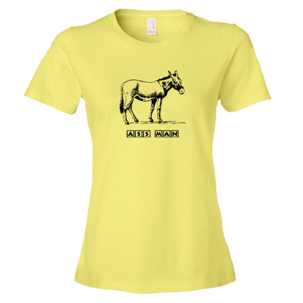 Womens Ass Man Donkey Sexual Preference - Tee Shirt