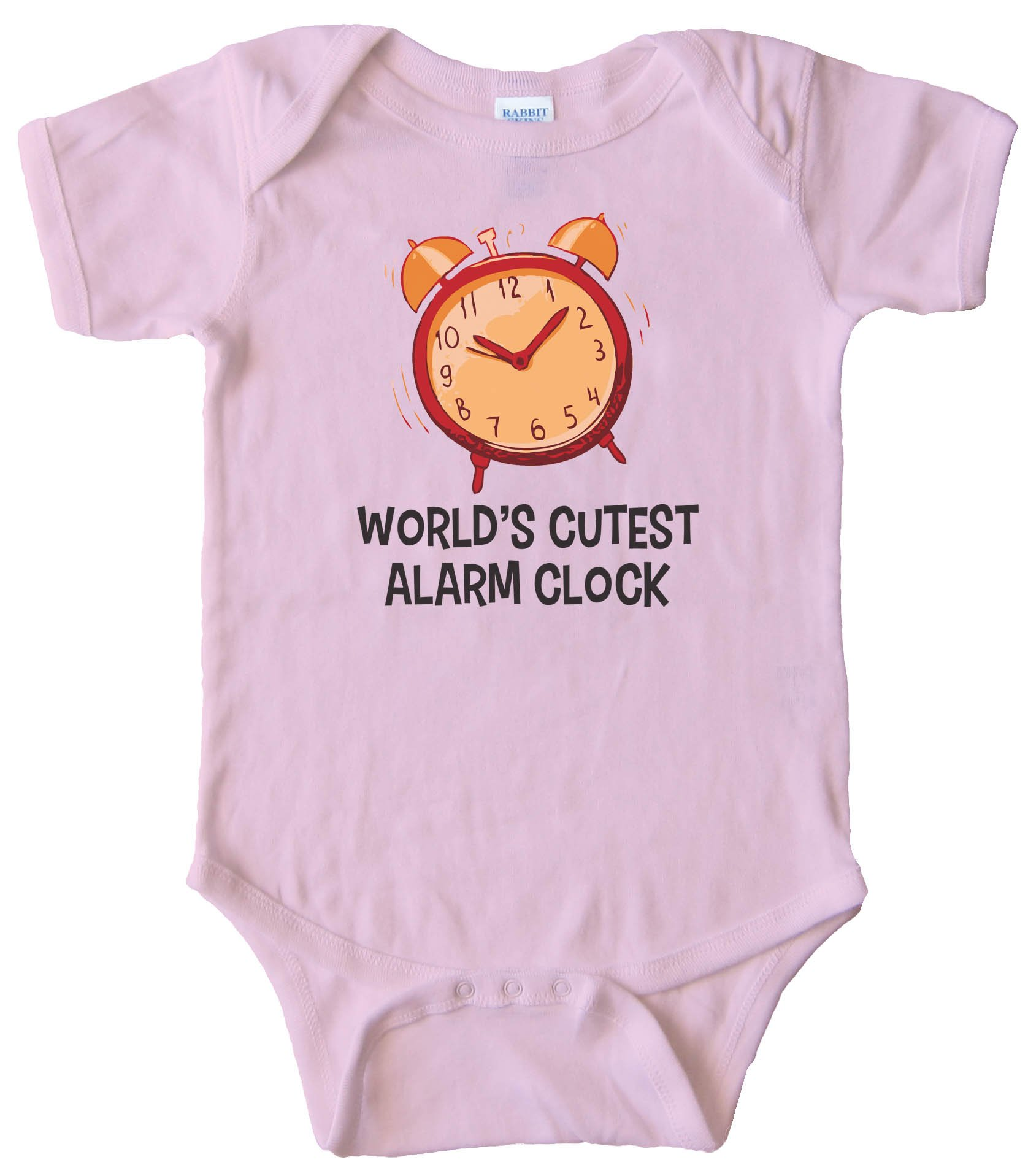 World'S Cutest Alarm Clock - Baby Bodysuit