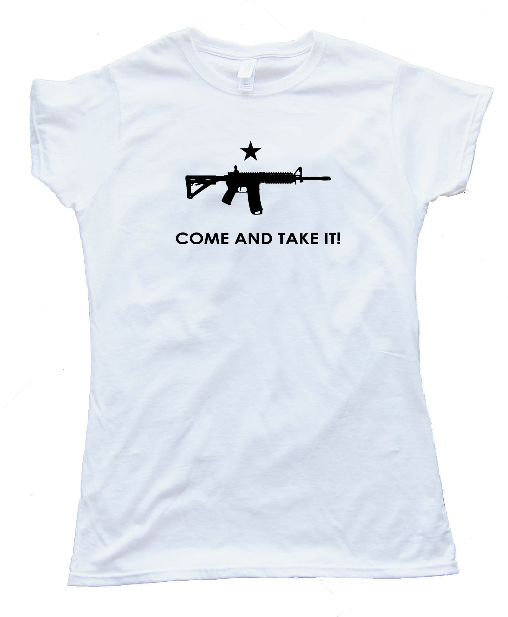 Womens Ar-15 Come And Take It! - Tee Shirt