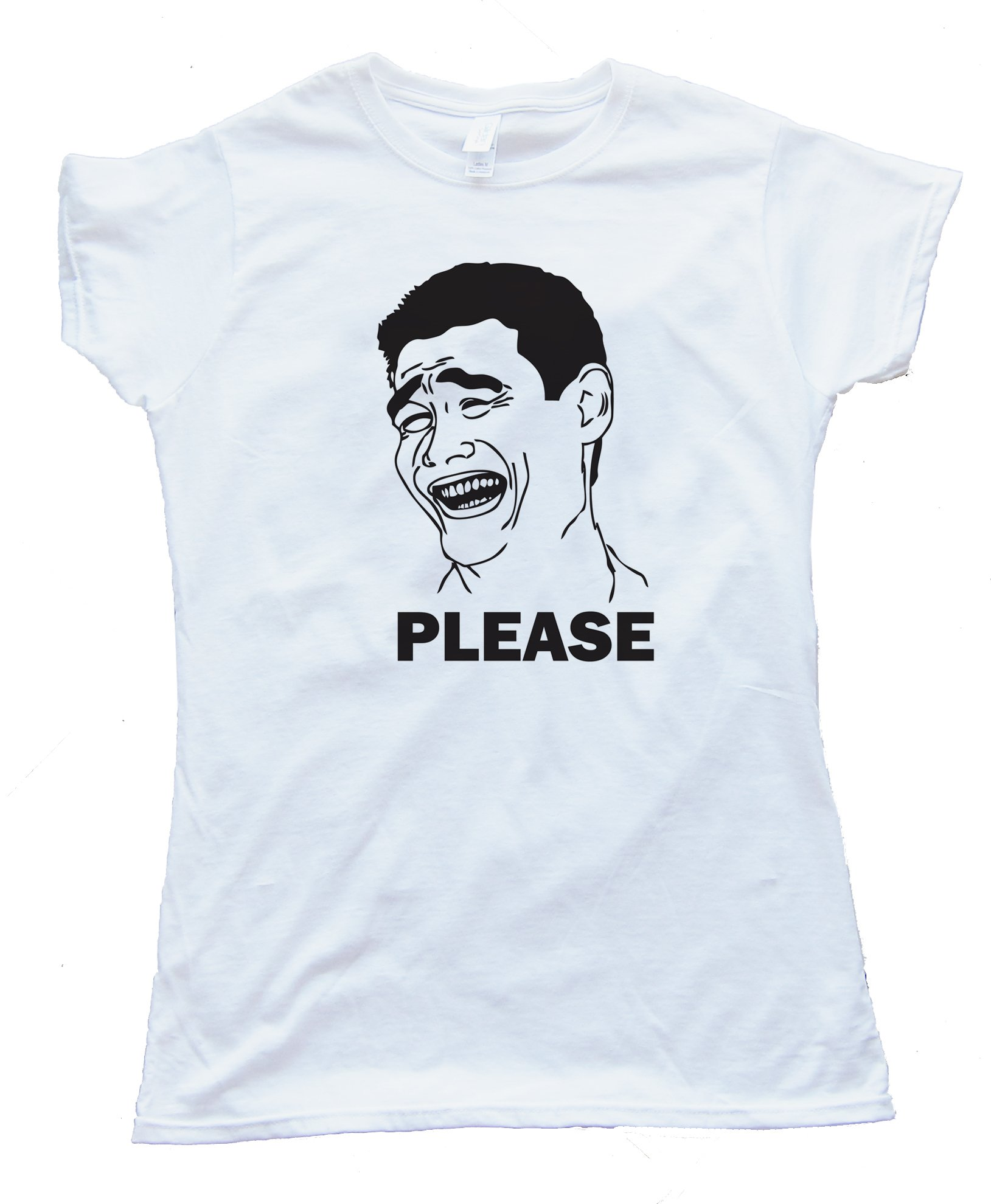 Womens Bitch Please Yao Ming Tee Shirt