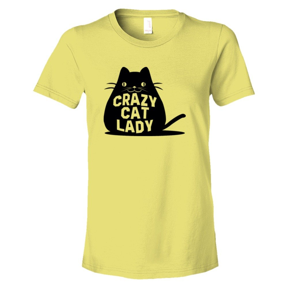 Womens Crazy Cat Lady Fat Cay - Tee Shirt