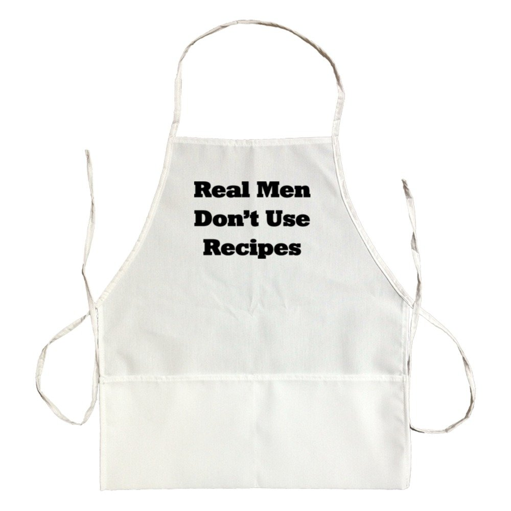 Apron Real Men Don'T Use Recipes