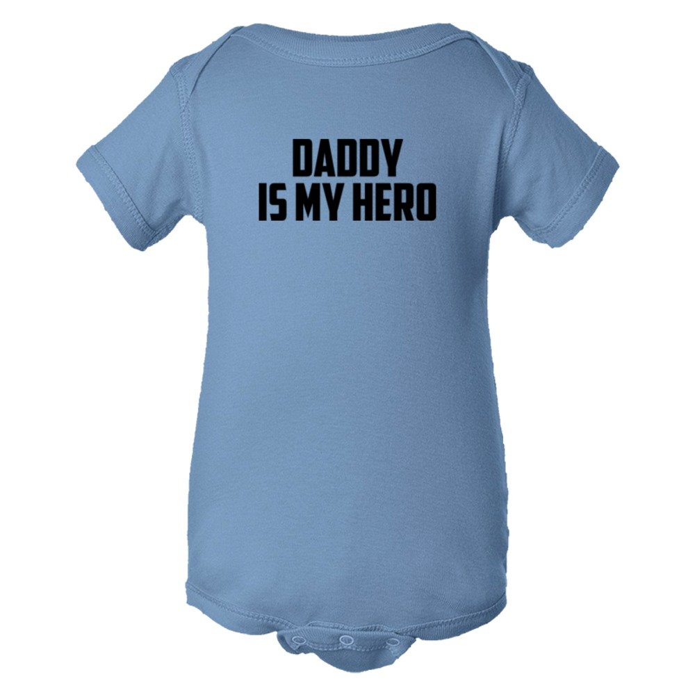 Baby Bodysuit Daddy Is My Hero