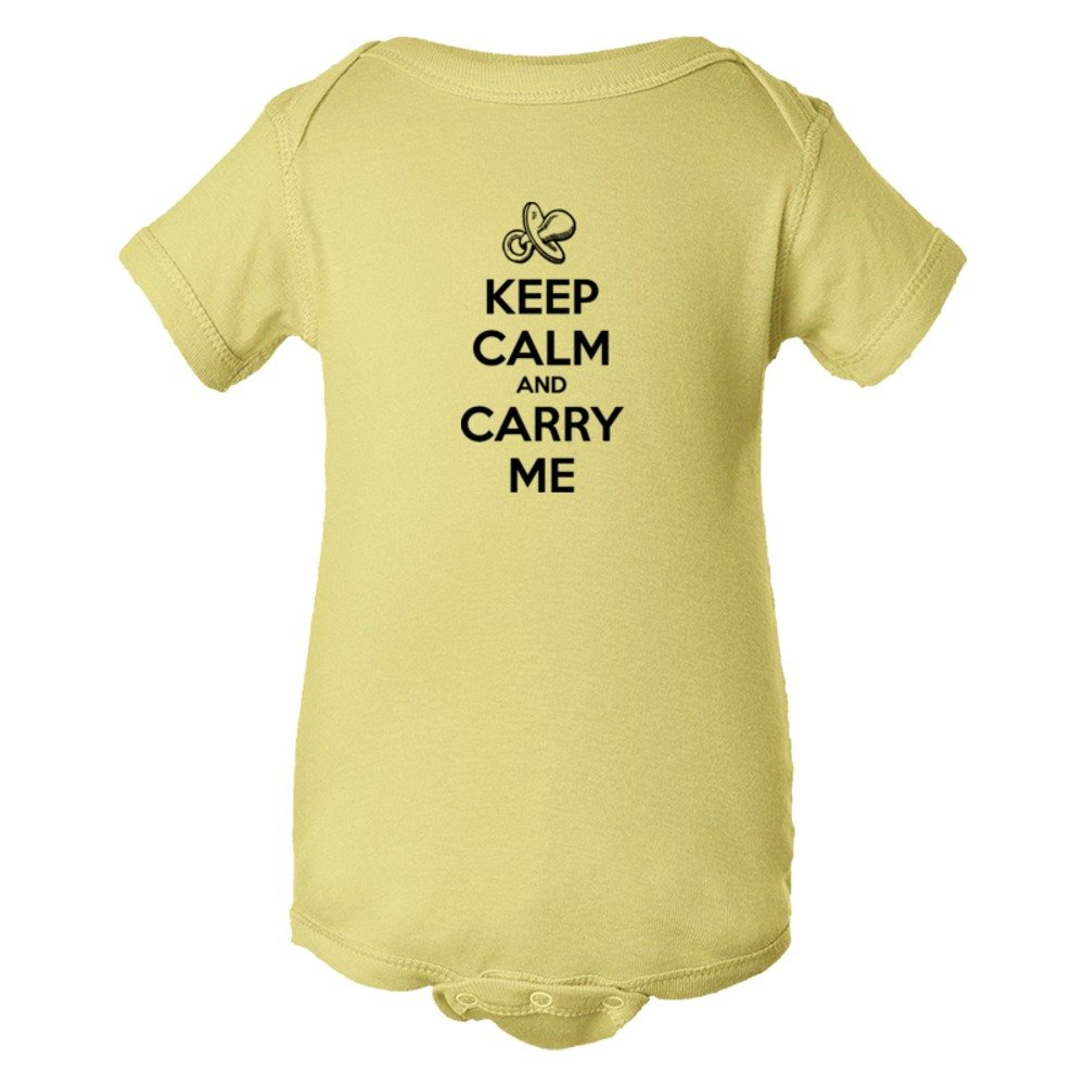 Baby Bodysuit Keep Calm And Carry Me
