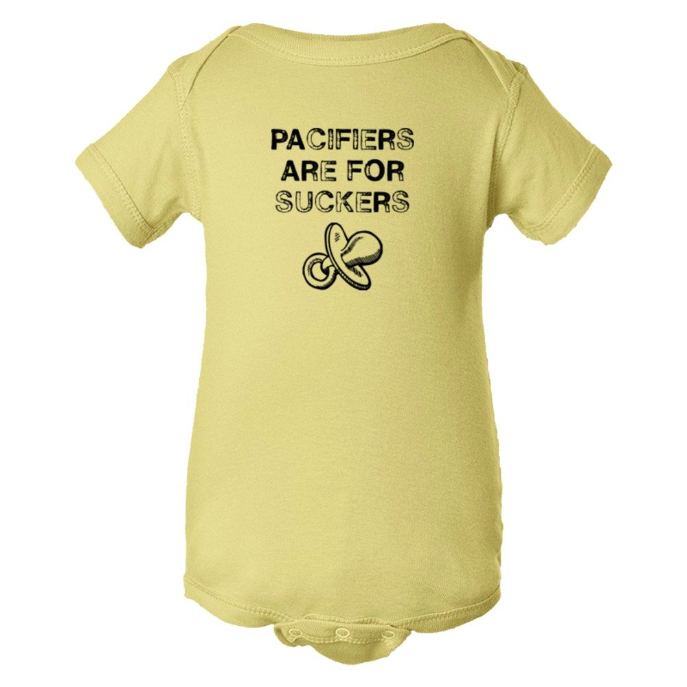 Baby Bodysuit Pacifiers Are For Suckers