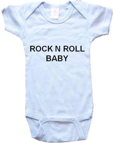 Baby Bodysuit - Rock And Roll Baby -