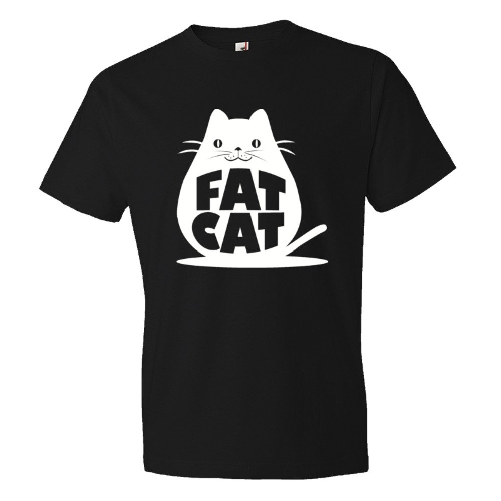 Fat Cat Feline Roundest - Tee Shirt