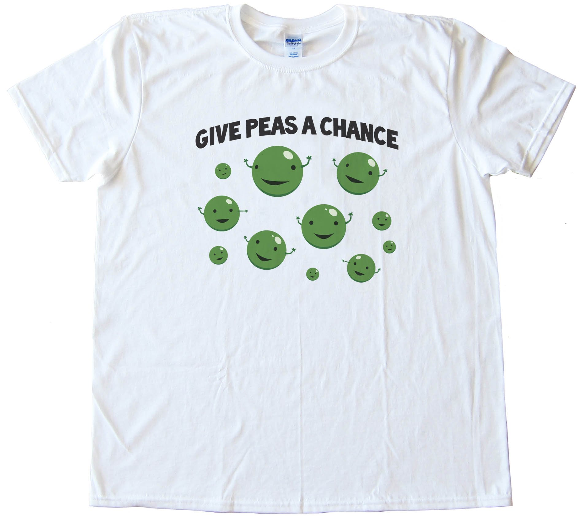 Give Peas A Chance -Tee Shirt