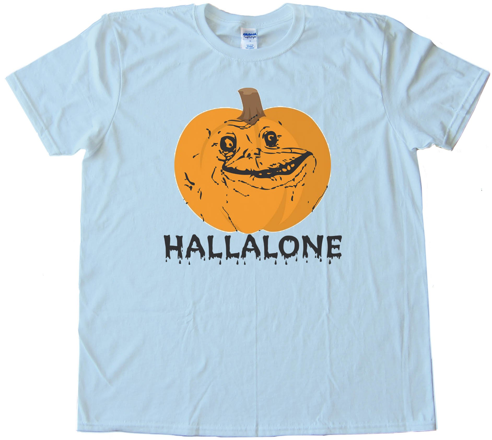 Hallalone Forever Alone Halloween - Tee Shirt
