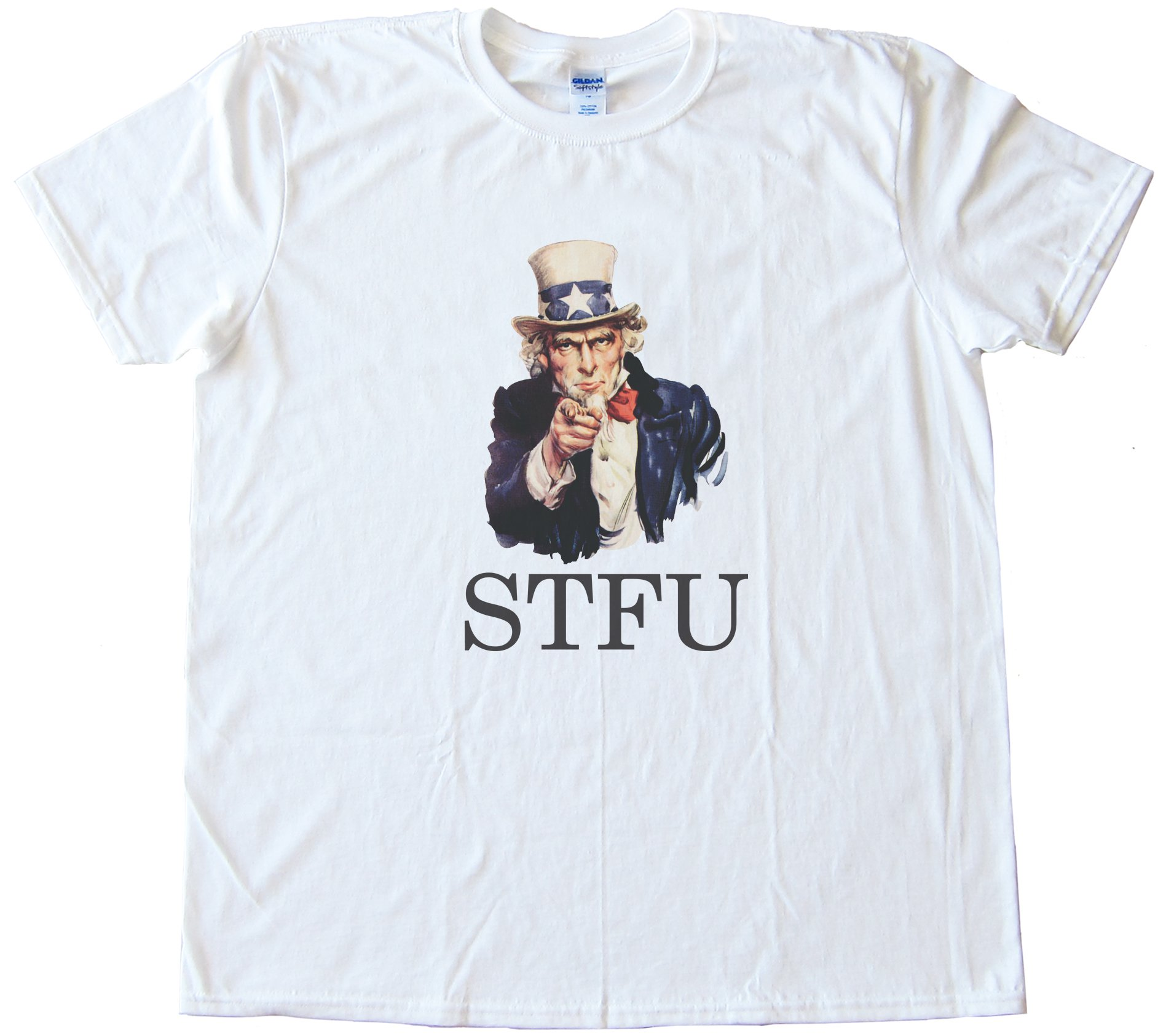 Mens Uncle Stfu Tee Shirt