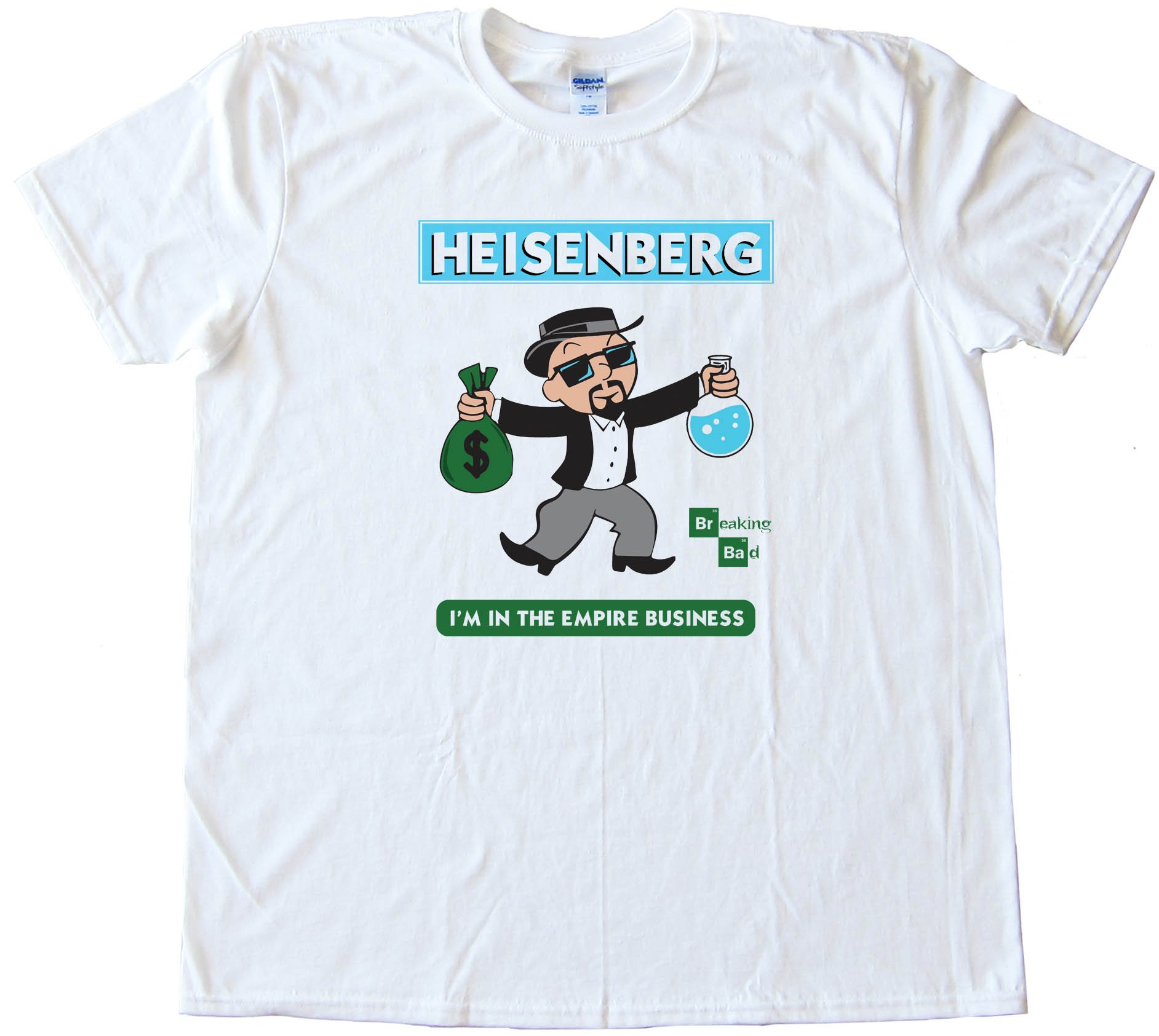 Monopoly Heisenberg Breaking Bad - Tee Shirt