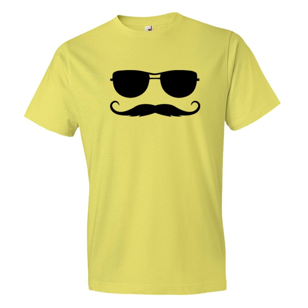 Ray Ban Sunglasses With Killer Mustache - Tee Shirt