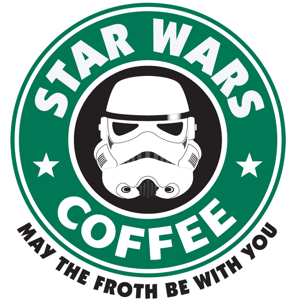 Star Wars Coffee Tee Shirt