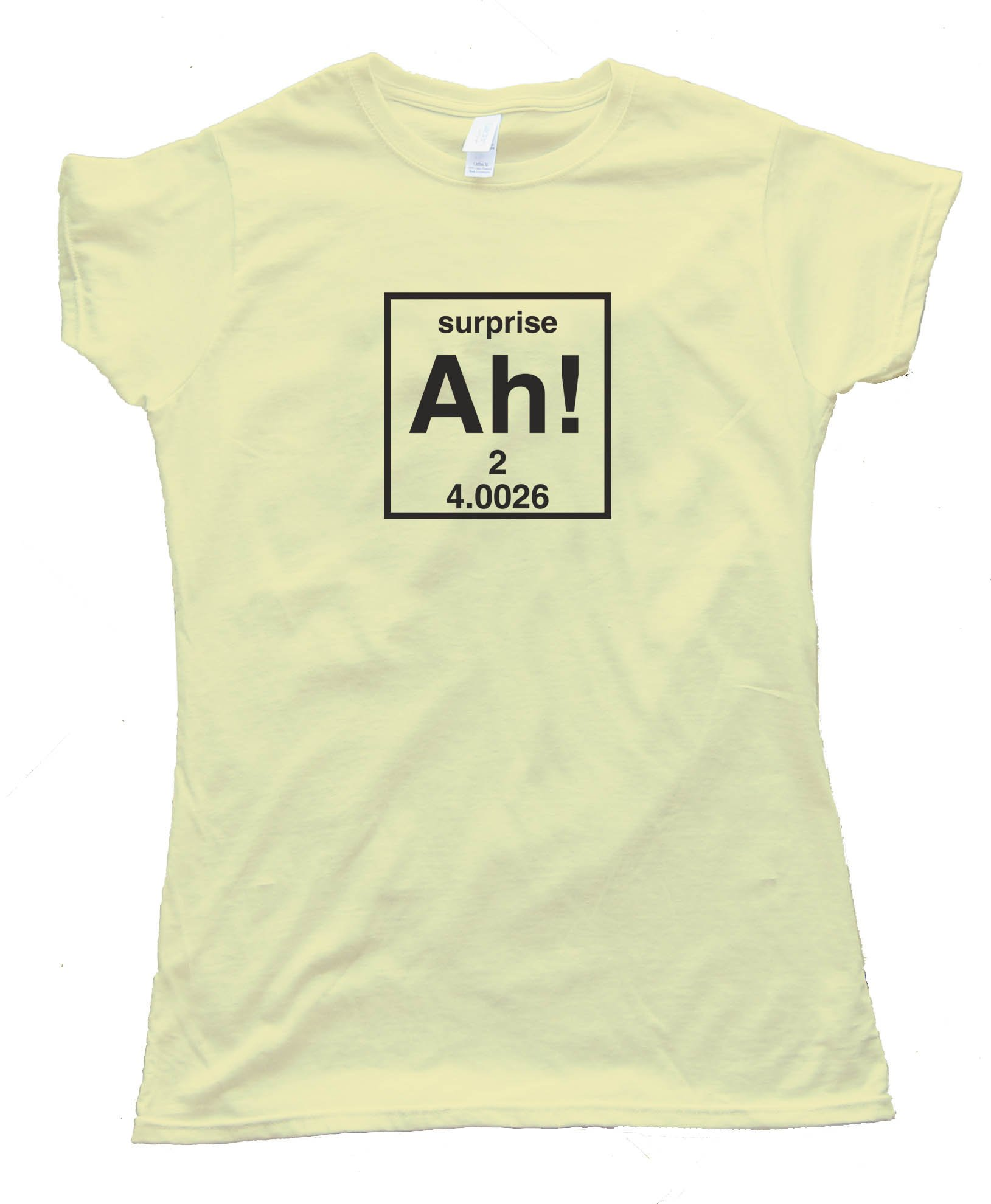 Womens Ah! The Element Of Surprise -Tee Shirt