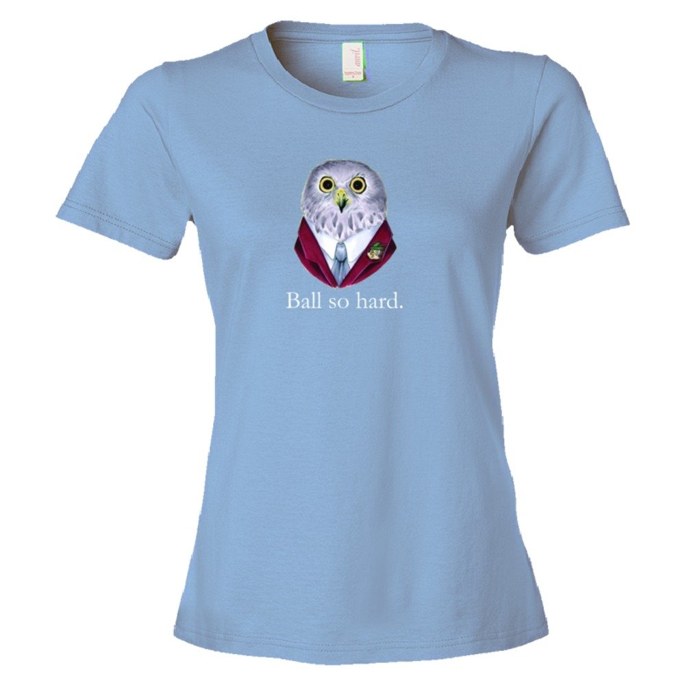 Womens Ball So Hard Owl 4Chan Delight - Tee Shirt