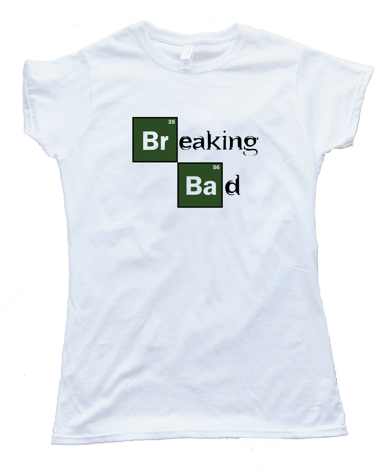 Womens Breaking Bad Periodic Chart Logo - Tee Shirt