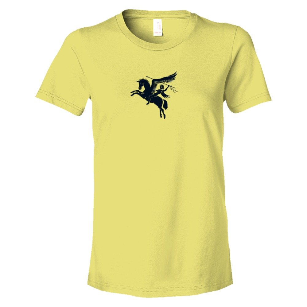Womens British Airforce Emblem With Pegasus Flying Horse - Tee Shirt