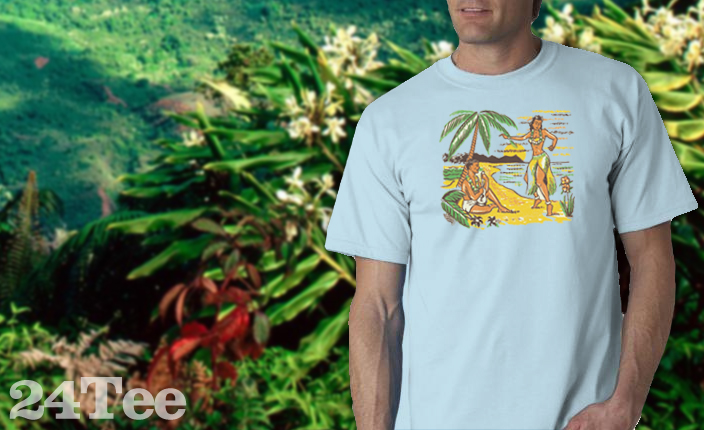 Hula Girl Tee Shirt