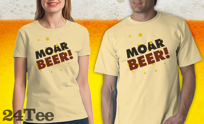 Moar Beer Tee Shirt