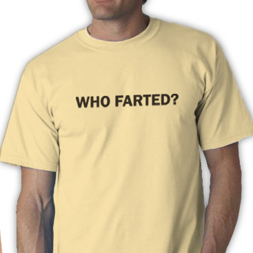 Who Farted? Tee Shirt