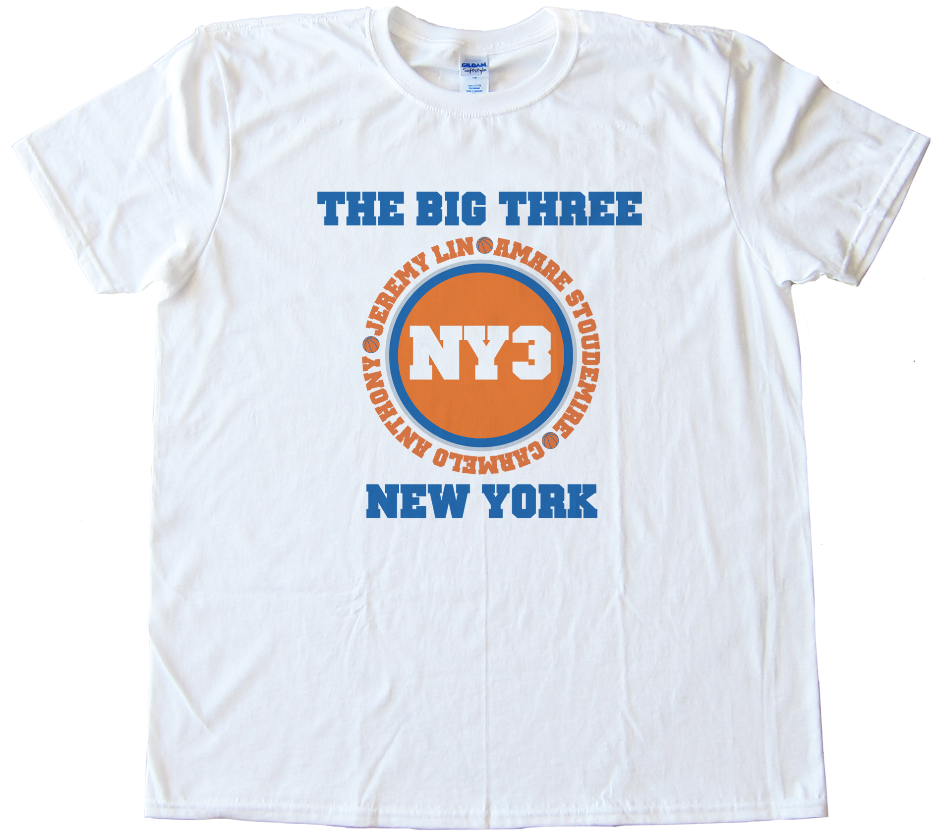 The Big Three New York Knicks Tee Shirt